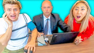 LIE DETECTOR TEST ON MY EX BOYFRIEND!! (shocking)