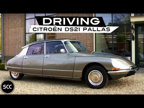 CITROËN DS 21 1972 - Modest test drive - Engine sound | SCC TV