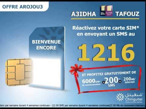 Telecom ADS  - Video Motion ROJOU3 Chinguitel Moritani - FR