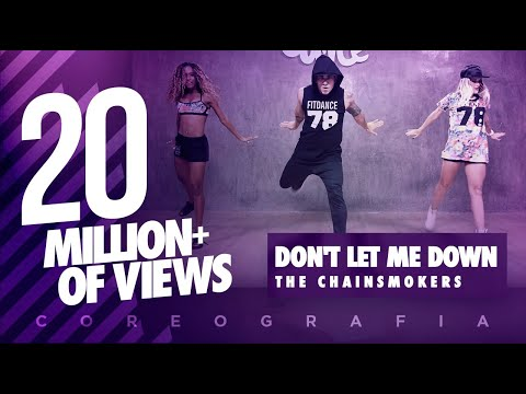 Don † t Let Me Down - The Chainsmokers - Choreography - FitDance Life