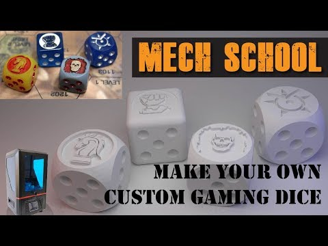 How to Make Your Own Custom Gaming Dice