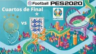 eFootball PES 2020: UEFA Euro 2020 - Alemania vs Inglaterra (2do tiempo) - Liga Máster