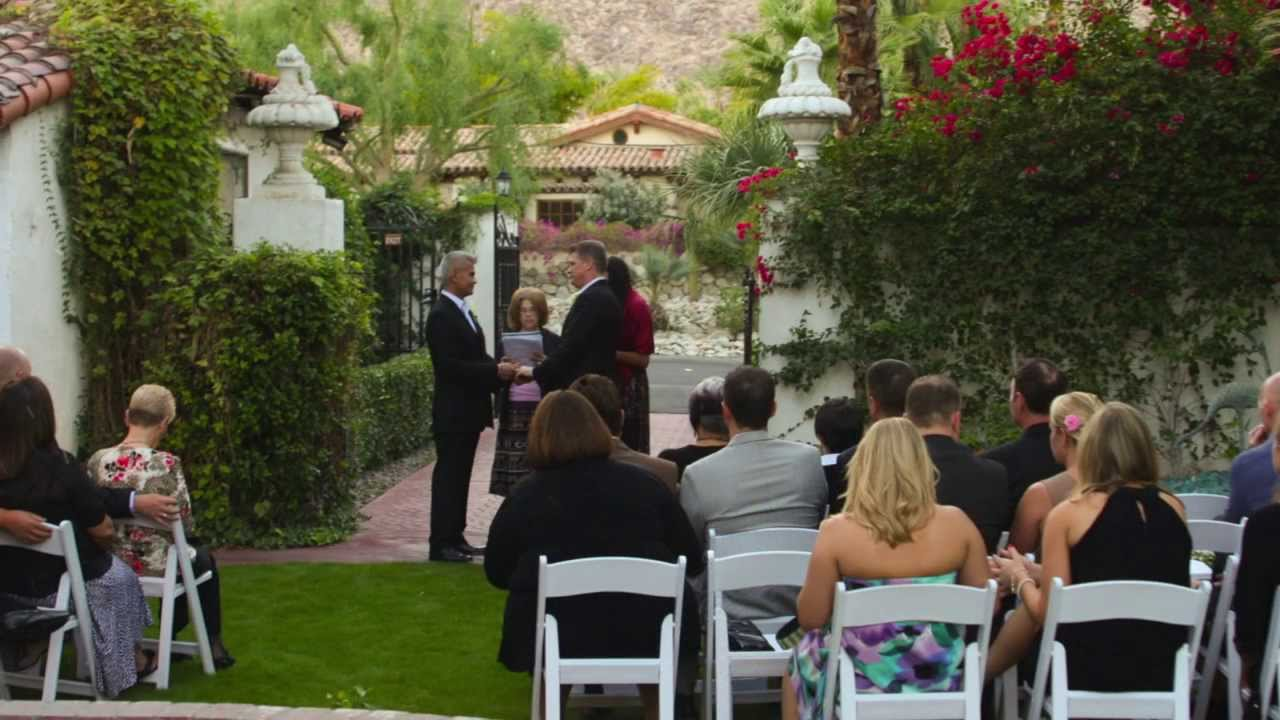 Palm Springs Wedding Photographer For All Youtube