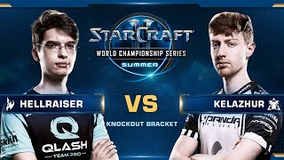 HellraiseR vs Kelazhur PvT - Knockout Bracket 6 - WCS Summer 2019