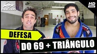 Jiu-Jitsu - Defesa do 69 + Triângulo - Dimitrius Souza - BJJCLUB