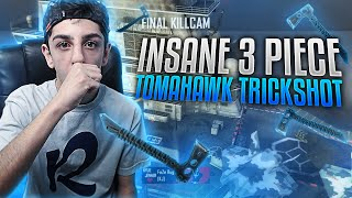 INSANE 3 PIECE TOMAHAWK TRICKSHOT!!