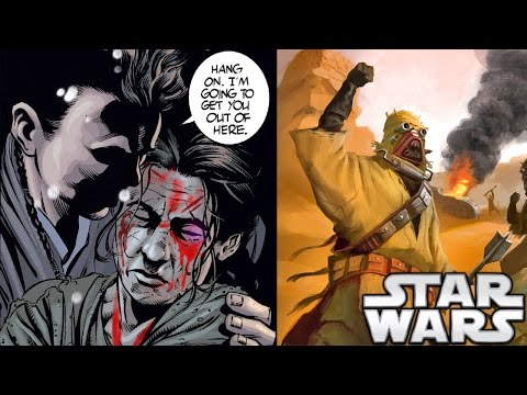 What Did the Sand People Do to Anakin's Mother? - Star Wars Explained