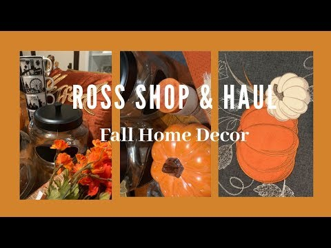 ROSS SHOP WITH ME & FALL HOME DECOR HAUL // SHYVONNE MELANIE TV