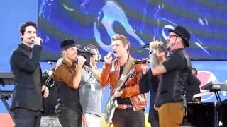 Backstreet Boys Larger Than Life Acapella (Soundcheck GMA 8/31/12)