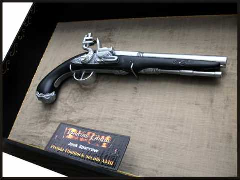 Jack Sparrow Pistola Flintlock - YouTube