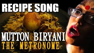 MUTTON BIRYANI ( Bengali Recipe ) | KOLKATA MUTTON BIRIYANI | Sawan Dutta | The Metronome