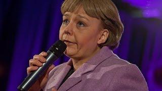 """Angela Merkel singt """"Ich mach' sie klein und dos' sie ein!"""""""