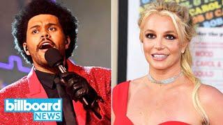 The Weeknd's EPIC Halftime Show, Britney Spears Doc Goes Viral, Best Super Bowl Ads   Billboard