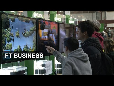 UK developers pitch their games | FT Business