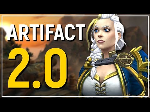 """ARTIFACTS 2.0: The """"Heart of Azeroth"""" in WoW: Battle of Azeroth - Better Or Worse?"""