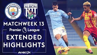 Manchester City v. West Brom | PREMIER LEAGUE HIGHLIGHTS | 12/15/2020 | NBC Sports