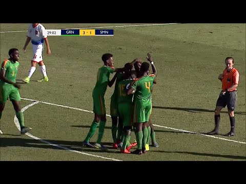 Here are the highlights of Grenada's 5-2 victory over Saint Martin