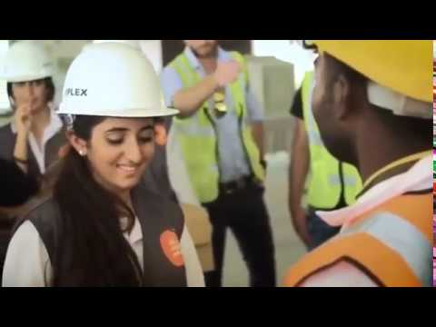 Dubai Ruler's young daughter Shaikha Shamma  met with labourers in the UAE