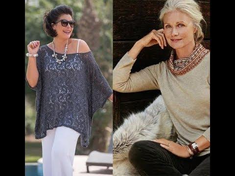 Looks para Mulheres com mais de 50 e 60 anos - YouTube cad815f9b3