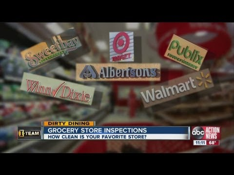Dirty Dining: Some Bay Area Grocery Stores Get All Good Grades While Others Receive Poor Scores