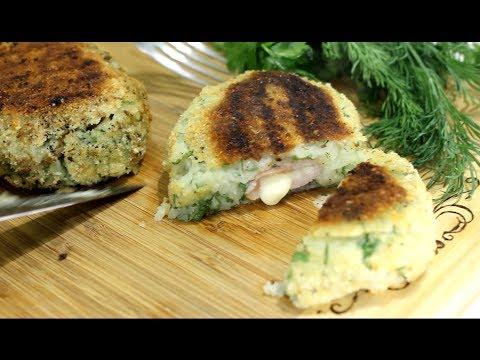 Рецепт Котлеты из куриного фарша в духовке с сыром на