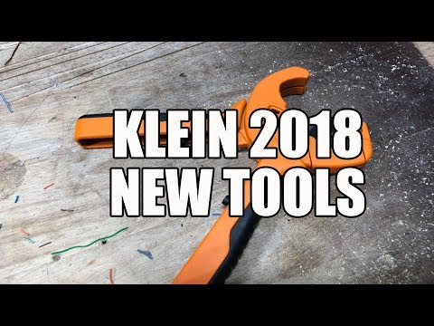 Klein New Tools for Spring 2018