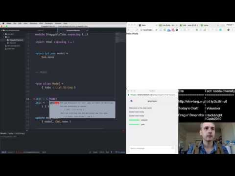 Elm - Building Drag n' Drop Tabs