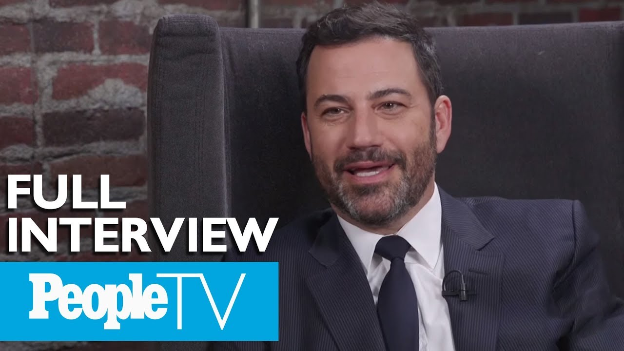 Jimmy Kimmel On Hosting The Emmy's, Making People Angry & More  | PeopleTV