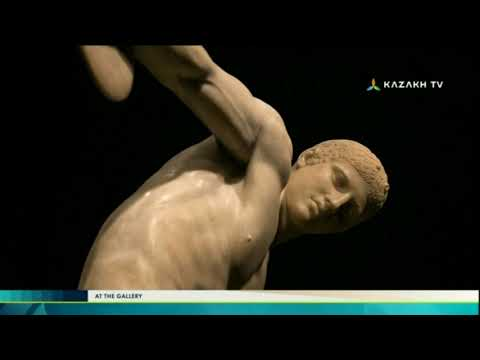 At the gallery №20 (10.09.2017) - Kazakh TV