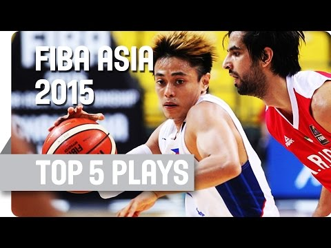 Top 5 Plays - Day 5 - 2015 FIBA Asia Championship