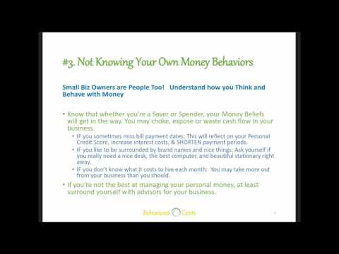 Small Business Survival: Avoid These 7 Money Behaviors with Carrie Rattle