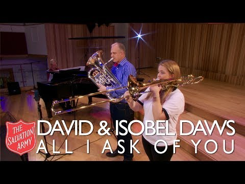 David and Isobel Daws perform All I Ask Of You