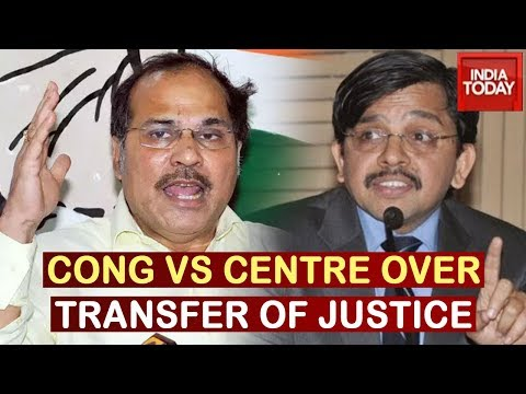 Govt Trying To Control Judiciary: Adhir Ranjan Questions Centre Over Justice Muralidhar's Transfer