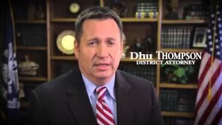 vote dhu thompson for caddo parish district attorney