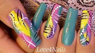 Fast & Easy Freestyle Nail Art
