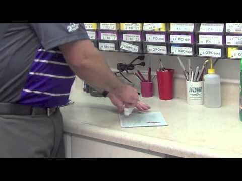 How to Clean your Master Wipe-It-Dry Pad