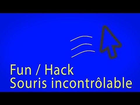 Fun/hack souris incontrôlable en musique PC