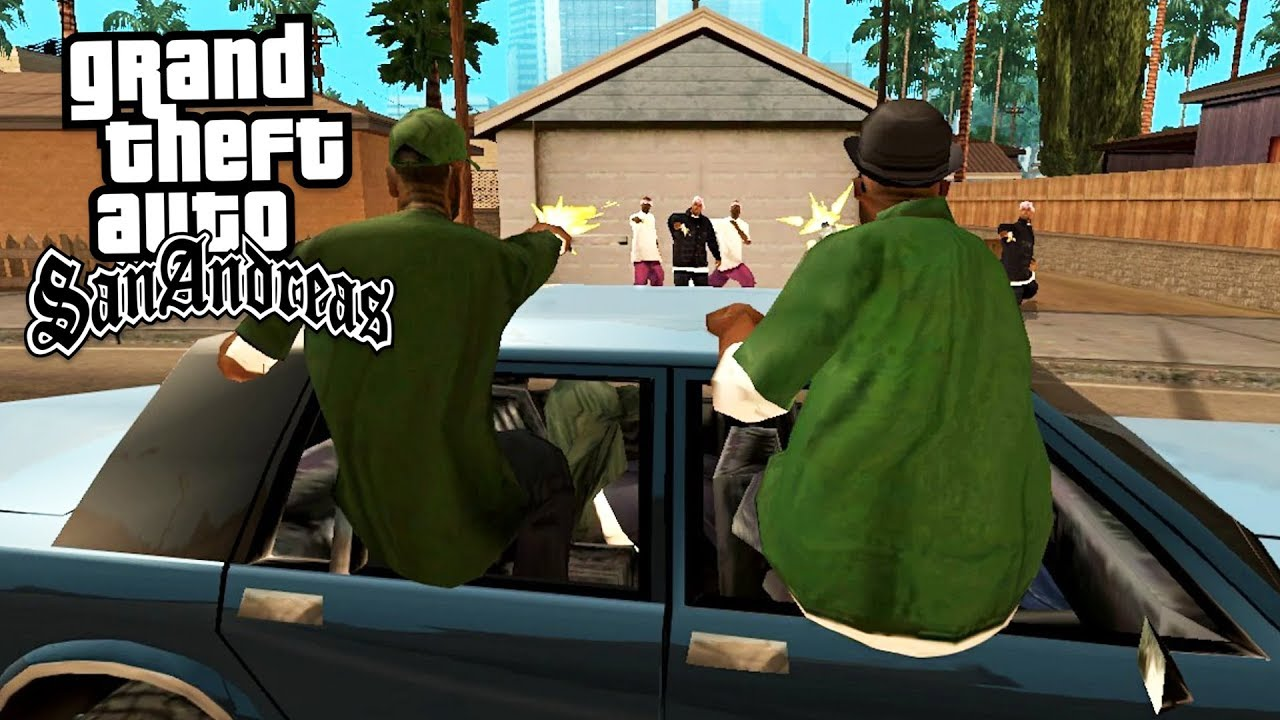 BEST GAME EVER!! (GTA San Andreas) - YouTube