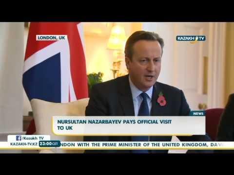 Nursultan Nazarbayev pays official visit to UK - Kazakh TV