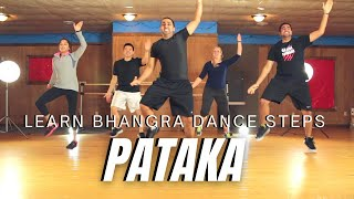 How to Do Bhangra - Pataka (Bhangra Style) | Learn Bhangra | Learn Bhangra App