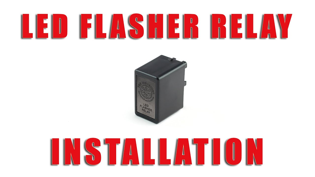 maxresdefault how to install led flasher relay on a suzuki drz 400 s, sm by tst