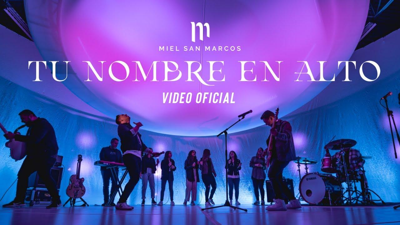 TU NOMBRE EN ALTO - Miel San Marcos - Video Oficial