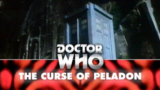 Doctor Who: The TARDIS falls off a mountain - The Curse of Peladon