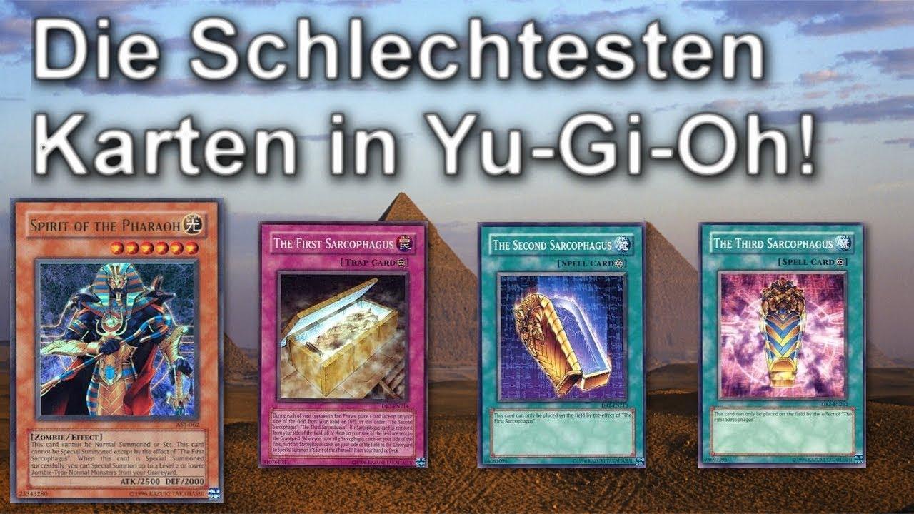 Die schlechtesten Karten in Yu-Gi-Oh!   Geist des Pharao - YouTube