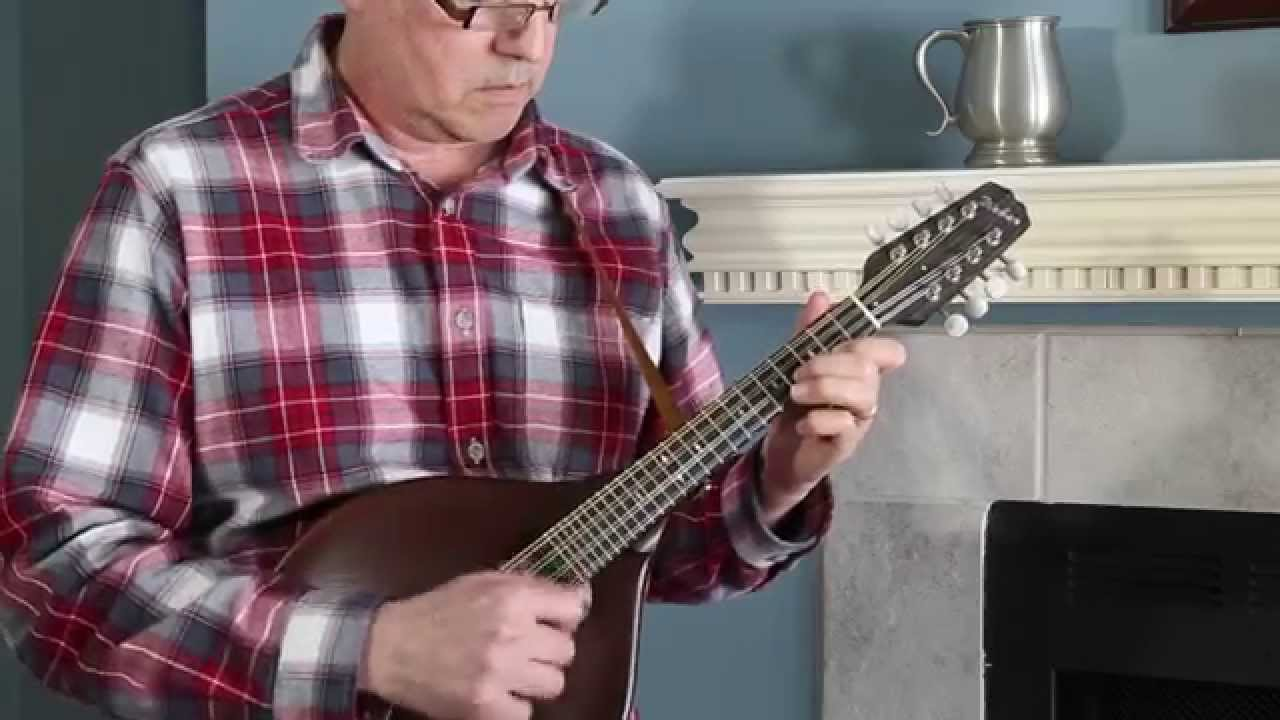 Battle of Evermore, Weber Gallatin A Oval Mandolin - YouTube