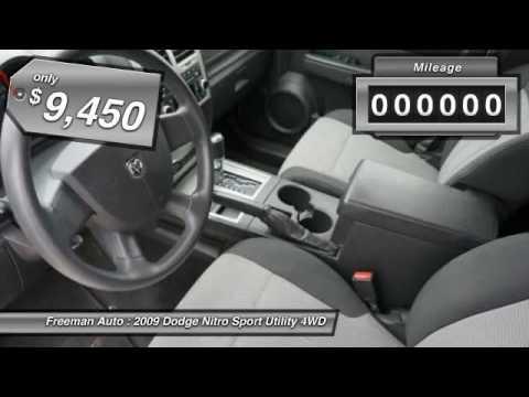 2009 Dodge Nitro Irving TX P9W522300