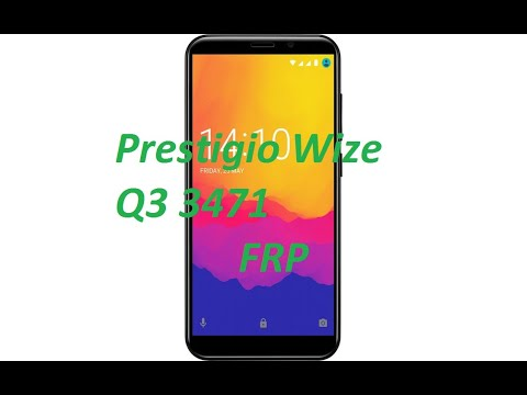 Prestigio PSP3471 Wize Q3 убираем графический ключ и FRP