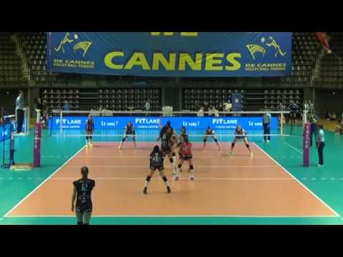 Maeva Orle (#10 Black, 2016 17 France A1, Cannes vs Mulhouse)