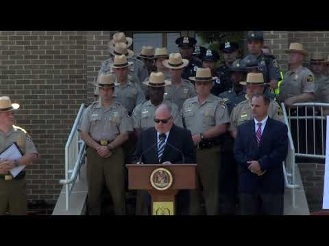 Maryland State Police Radio FiRST Launch - 8/3/17