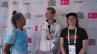 Interview with Gold Medalists Emma Kahle and Daniel O'Neill